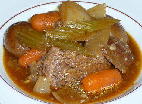 Fast food pot roast