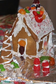 Yes, I bake my own gingerbread houses