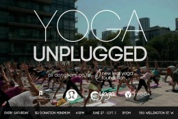 Unplug With Yoga at the Thompson Hotel