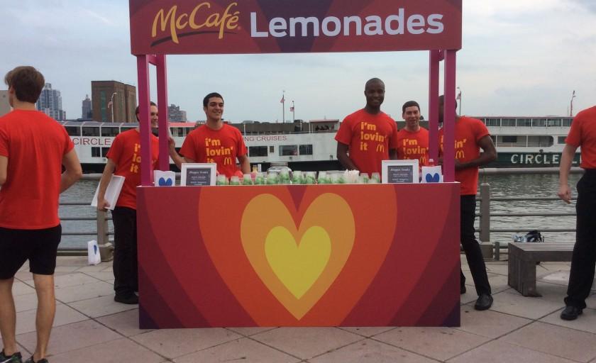 #imlovinit @McDonalds #Blogher15