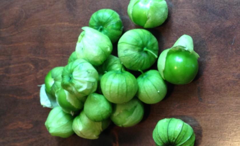 Tomatillos from the Garden