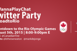 #RoadtoRio Countdown to the Rio Olympic Games ( and Twitter Party )