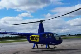 #PermissionToHover with @BestBuyCanada for #BackToSchool (and a helicopter ride)