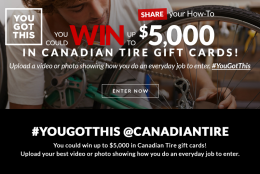 I fixed my squeaky door – what can you do? #YouGotThis with Canadian Tire