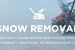 Preparing our Home for Fall – Snow Removal