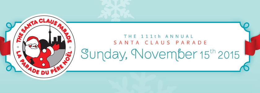 Ho Ho Ho, The Toronto Santa Claus Parade is coming!