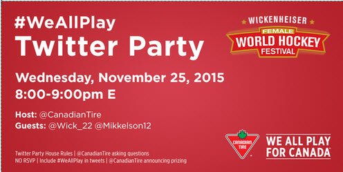 #WeAllPlay with Hayley Wickeheiser and #CTWickfest