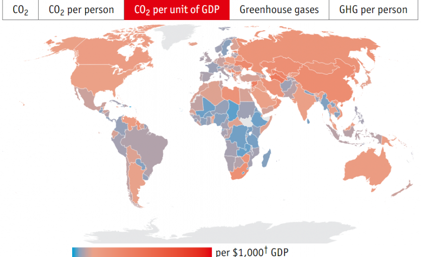 What Countries Have the Most Work to Do? #COP21