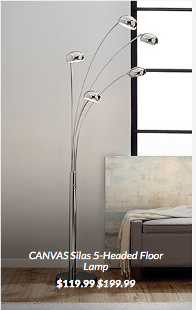 Canvas Silas Floor Lamp Canadian Tire
