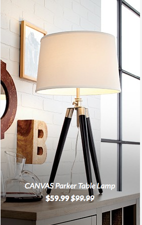 Canvas Parker Table Lamp Canadian Tire