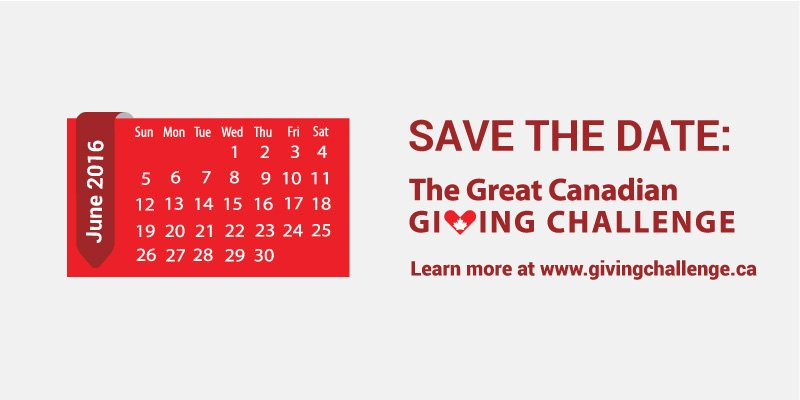 The Great Canadian Giving Challenge – How To Support and How to Participate!