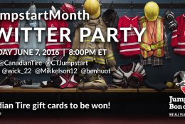JOIN THE #JUMPSTARTMONTH TWITTER PARTY JUNE 7 AT 8PM ET