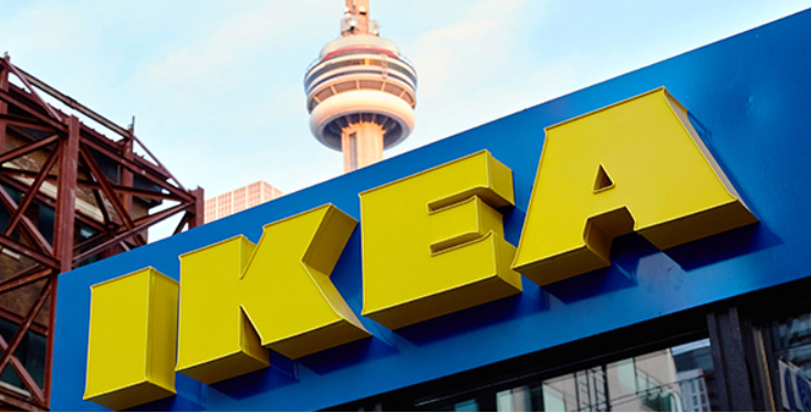 The IKEA Pop-Up is open in Toronto! Come on in! #StartFooding