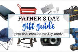 Father's Day Gift Guide – What Your Dad Really Wants from @CanadianTire