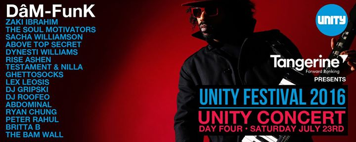 Tangerine Presents Unity Festival 2016// July 20-23