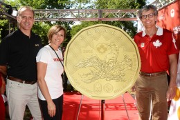 2016 Lucky Loonie paying tribute to Canadian Olympic and Paralympic athletes