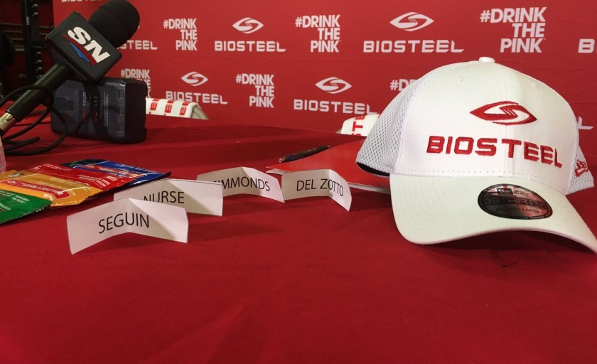 Hoping to be inspired at the BioSteel Sports Hockey Training #CAMP 2016