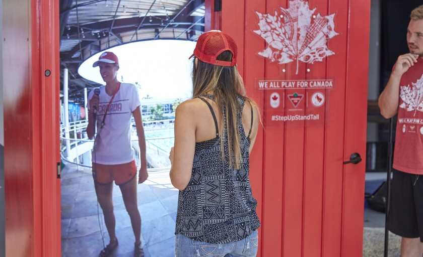 Canadian Tire Red Door to Rio #StepUpStandTall
