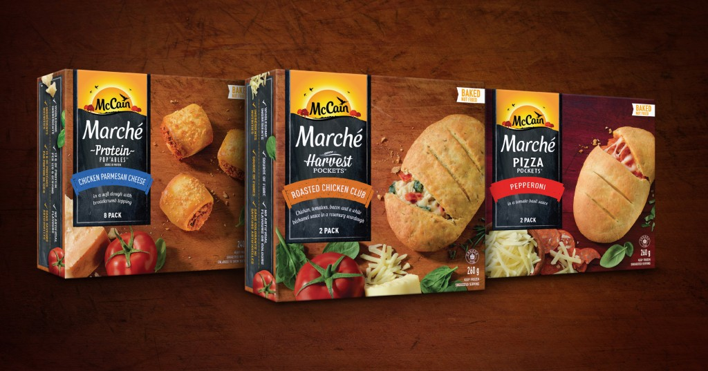 McCain introduces a satisfying new way for Canadians to snack with our game-changing McCain Marché lineup (CNW Group/McCain Foods (Canada))