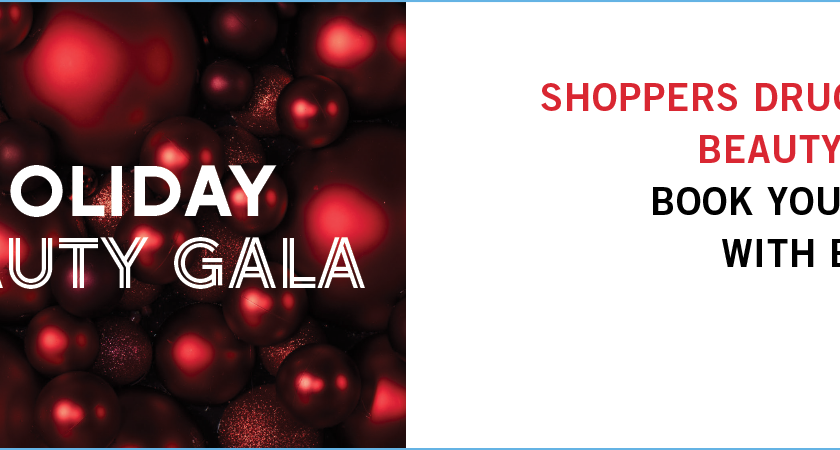 Glam Up and Give Back at Shoppers Drug Mart Holiday Beauty Gala on November 5, 2016