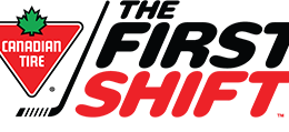 The Canadian Tire First Shift Hockey Program
