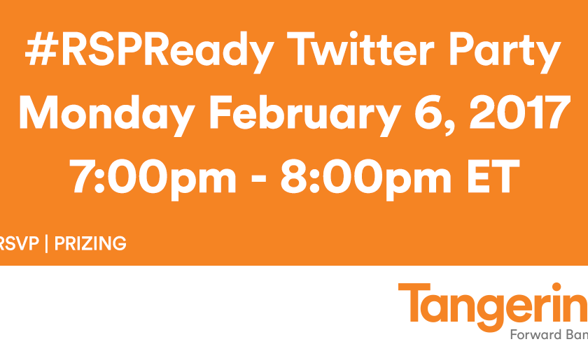 #RSPReady Twitter Party with Tangerine