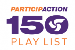 Celebrate Canada 150 with Participaction 150 Play List to earn prizes and badges