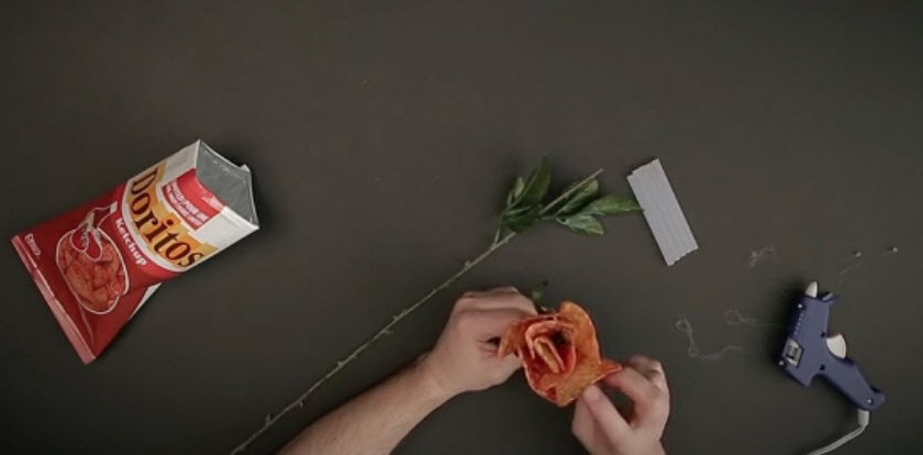 Back by popular demand, Doritos® Ketchup Roses are the better and bolder way to declare your love.